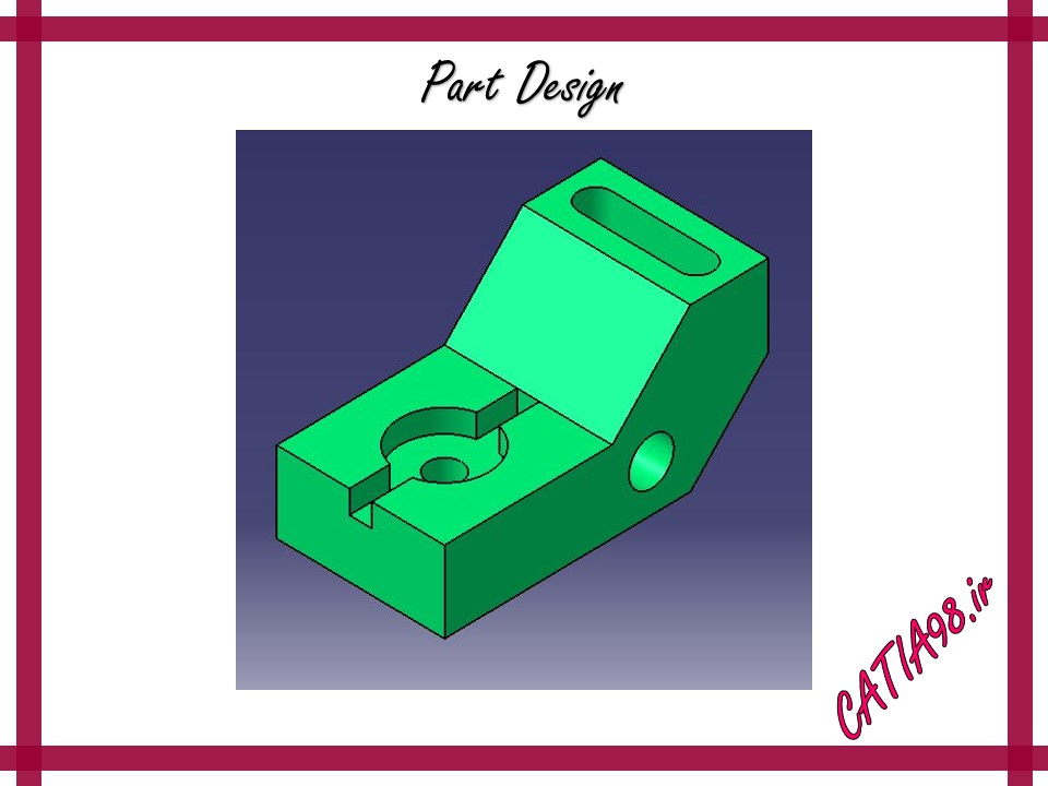 Part Design No.16 - مجموعه تمرین های محیط Part Design