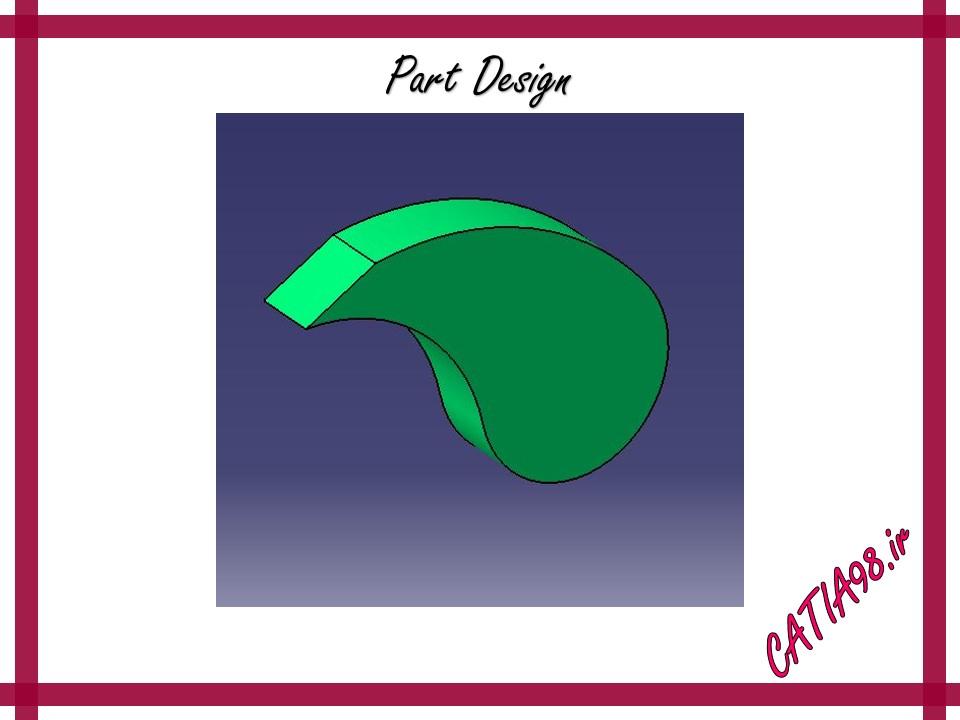 Part Design No.2 - مجموعه تمرین های محیط Part Design