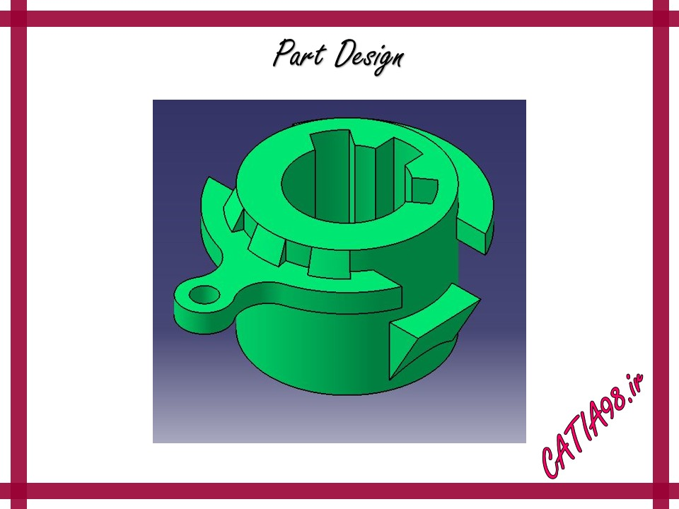 Part Design No.26 - مجموعه تمرین های محیط Part Design