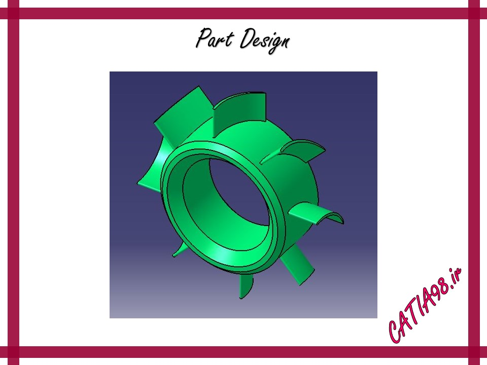 Part Design No.27 - مجموعه تمرین های محیط Part Design