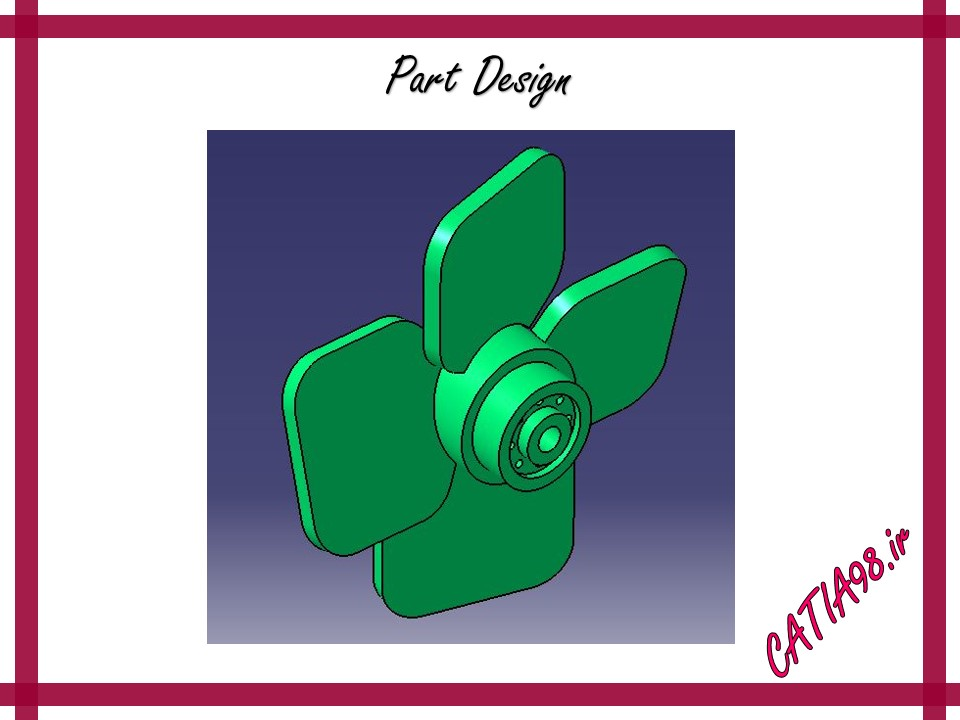 Part Design No.28 - مجموعه تمرین های محیط Part Design