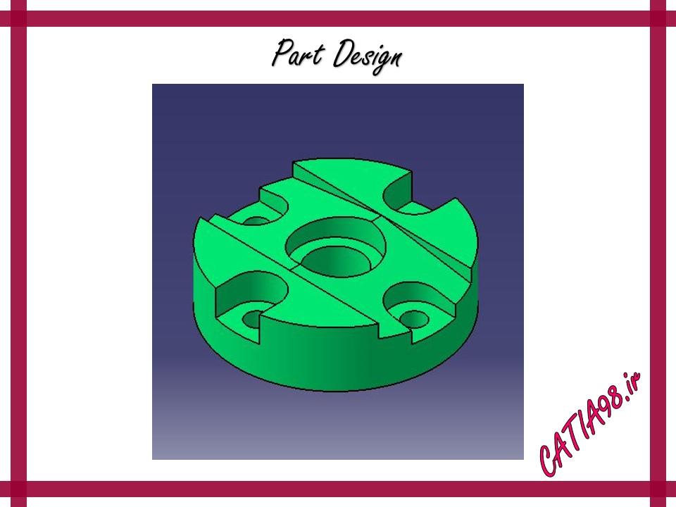 Part Design No.31 - مجموعه تمرین های محیط Part Design