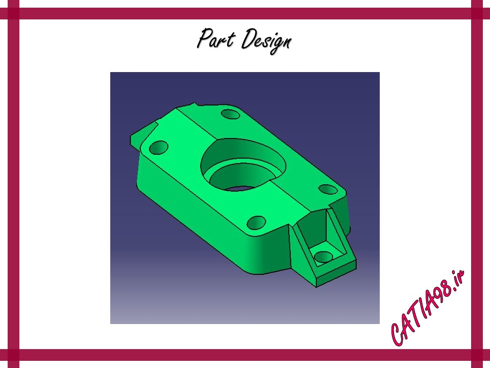 Part Design No.33 - مجموعه تمرین های محیط Part Design