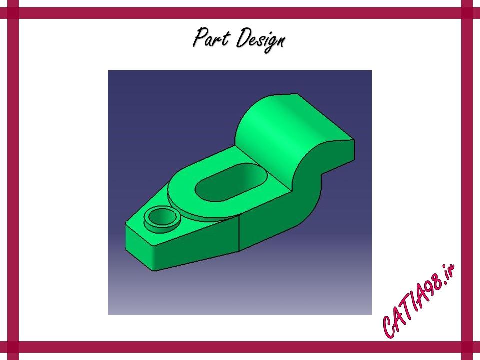 Part Design No.36 - مجموعه تمرین های محیط Part Design