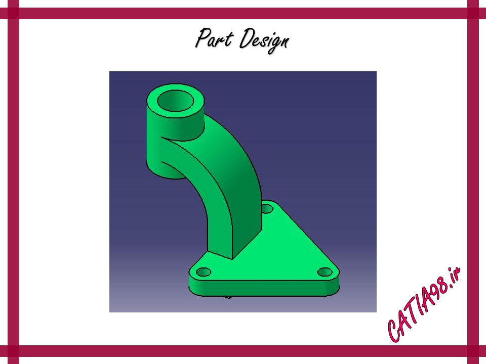 Part Design No.37 - مجموعه تمرین های محیط Part Design