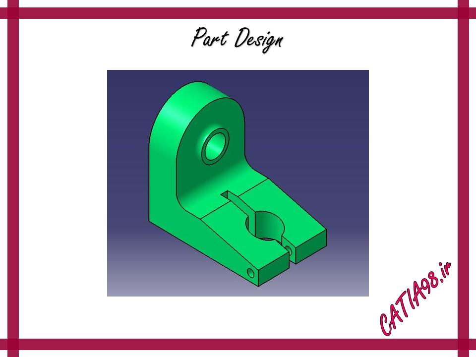 Part Design No.39 - مجموعه تمرین های محیط Part Design