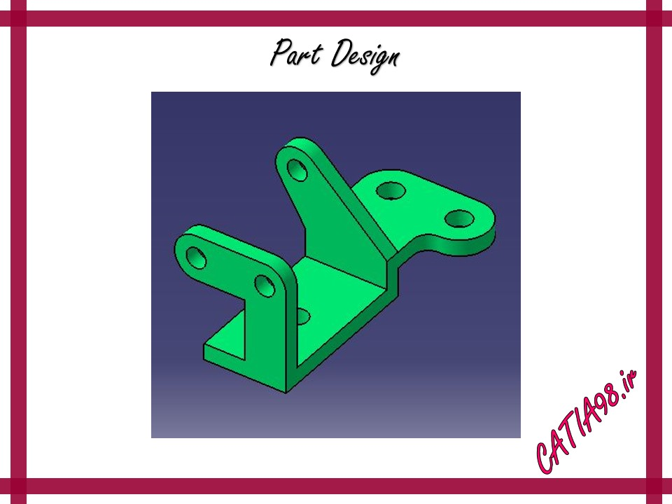 Part Design No.49 - مجموعه تمرین های محیط Part Design