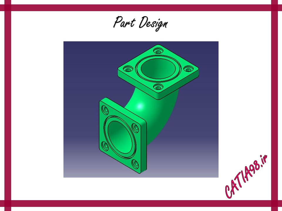 Part Design No.57 - مجموعه تمرین های محیط Part Design