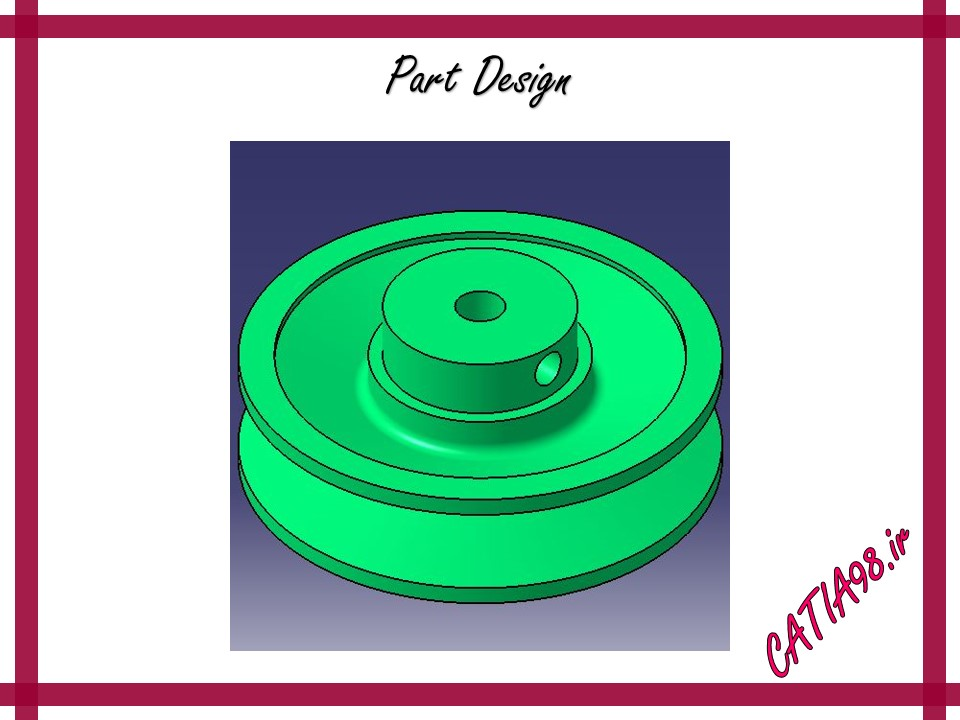 Part Design No.74 - مجموعه تمرین های محیط Part Design