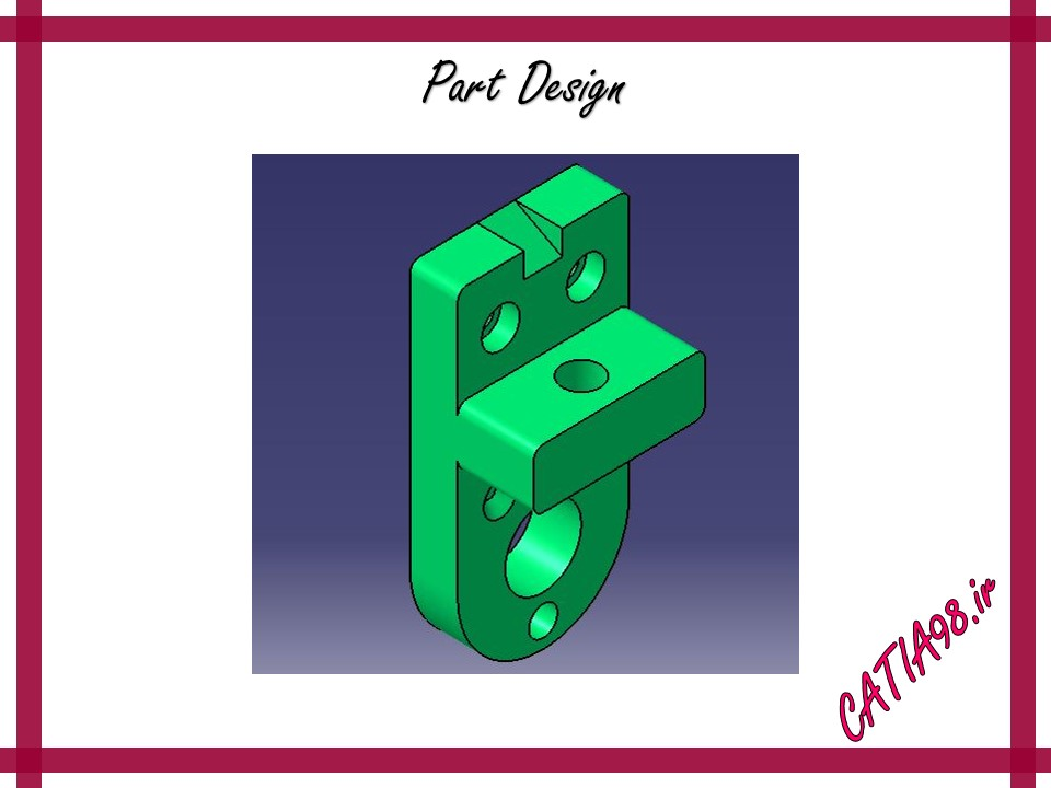 Part Design No.84 - مجموعه تمرین های محیط Part Design
