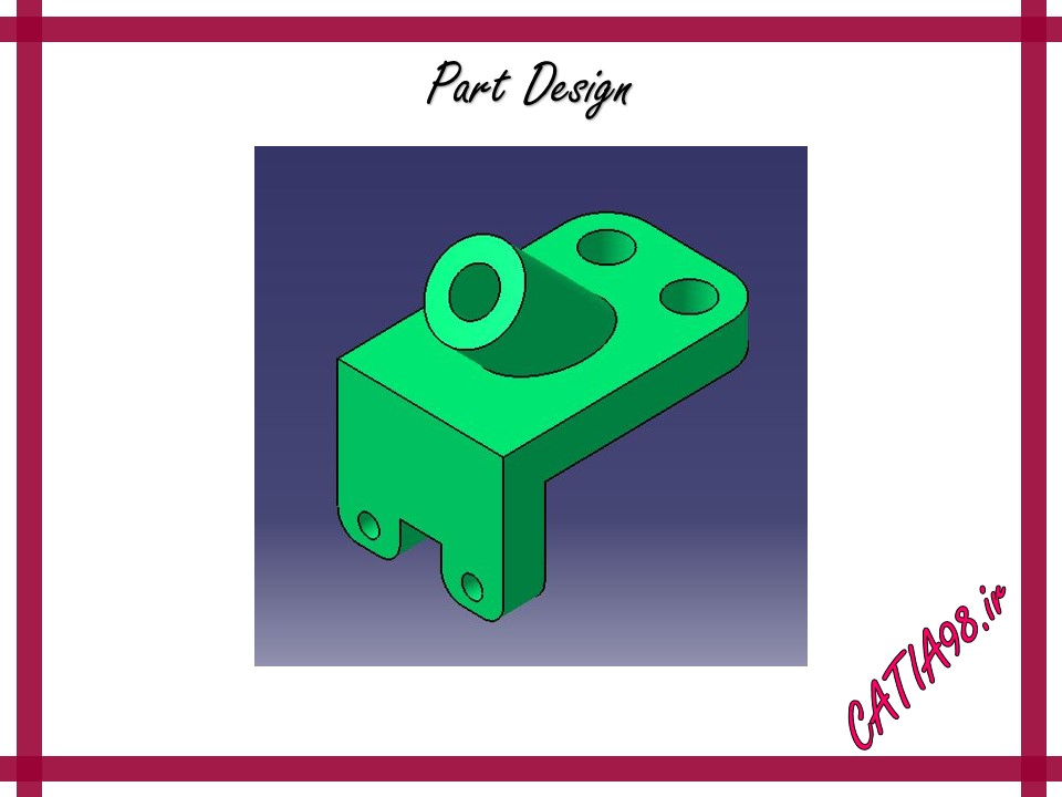 Part Design No.92 - مجموعه تمرین های محیط Part Design
