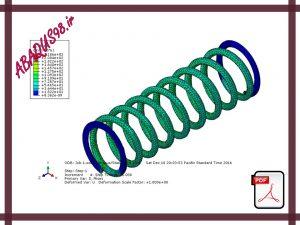 Side22 300x225 - فایل آموزشی بیست و دوم: مدل سازی فنر با بارگذاری نوسانی در آباکوس