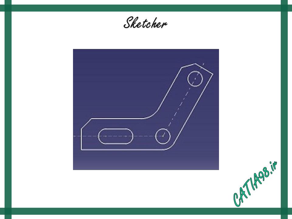 Sketcher No.17 - مجموعه تمرین های محیط Sketcher
