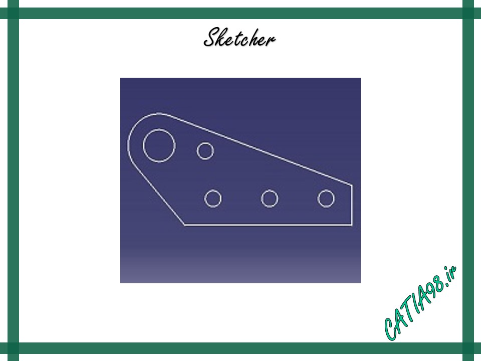 Sketcher No.21 - مجموعه تمرین های محیط Sketcher