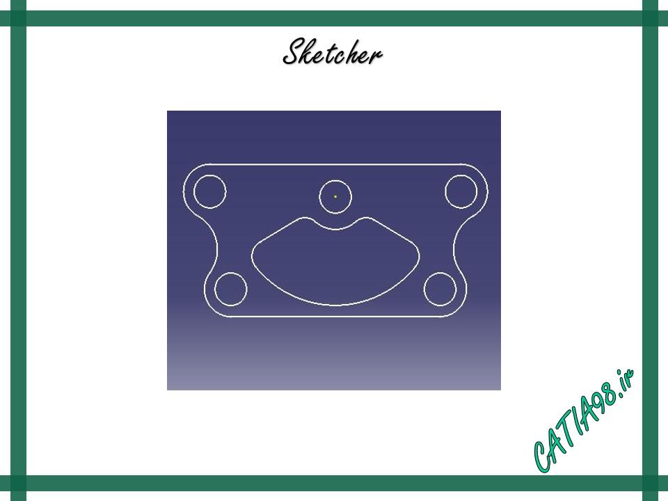 Sketcher No.22 - مجموعه تمرین های محیط Sketcher