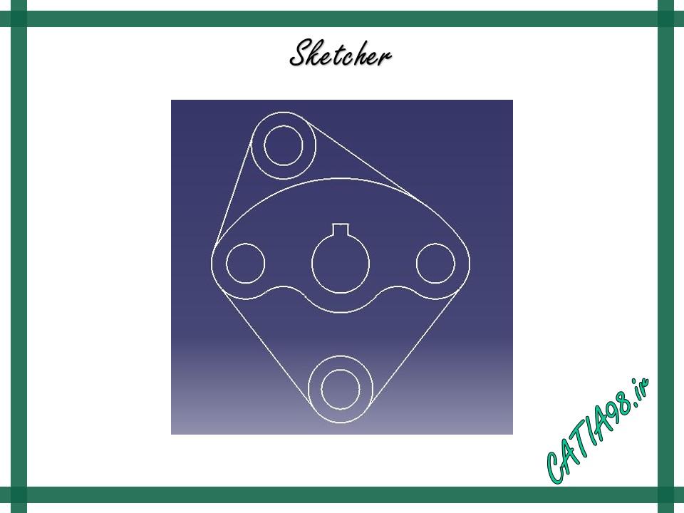 Sketcher No.39 - مجموعه تمرین های محیط Sketcher