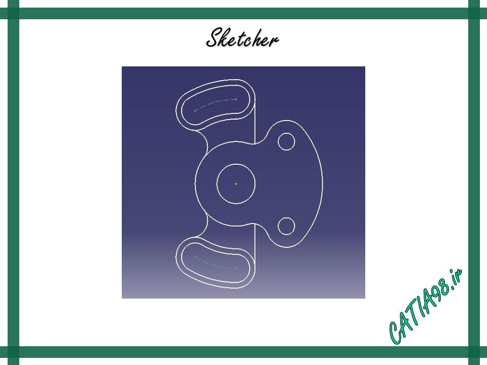 Sketcher No.40 - مجموعه تمرین های محیط Sketcher