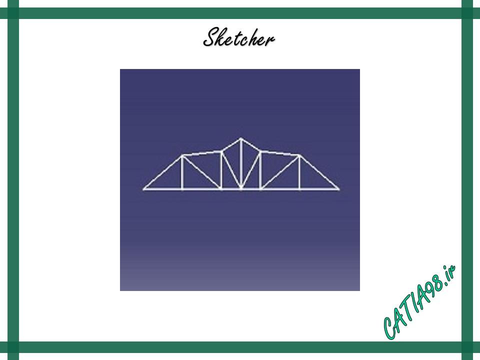 Sketcher No.7 - مجموعه تمرین های محیط Sketcher
