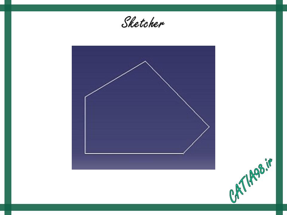 Sketcher No.8 - مجموعه تمرین های محیط Sketcher