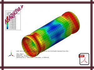 Slide16 300x225 - فایل آموزشی شانزدهم: تحلیل کمانش یک لوله از جنس فولاد با خواص پلاستیک