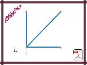 Slide17 300x225 - فایل آموزشی هفدهم: تحلیل استاتیکی خرپای دوبعدی (2D Truss Analysis)