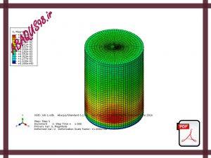 Slide23 300x225 - فایل آموزشی بیست و سوم: مدل سازی مخزن نفت و بررسی نیروهای وارده بر جداره آن