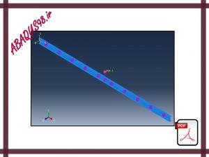 Slide25 300x225 - فایل آموزشی بیست و پنجم: آنالیز مودال تیر متصل به تعدادی فنر در آباکوس