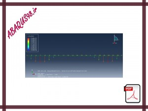 Slide342 300x225 - فایل آموزشی بیست و هشتم: مدل سازی تیر دوبعدی تحت بار گسترده