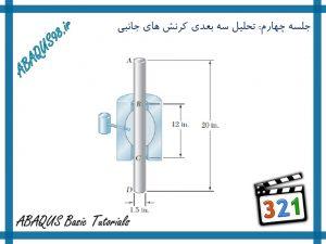 آموزش مقدماتی abaqus - تحلیل سه بعدی کرنش های جانبی