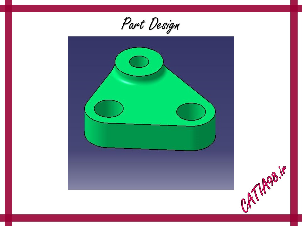 Part Design No.15 - مجموعه تمرین های محیط Part Design