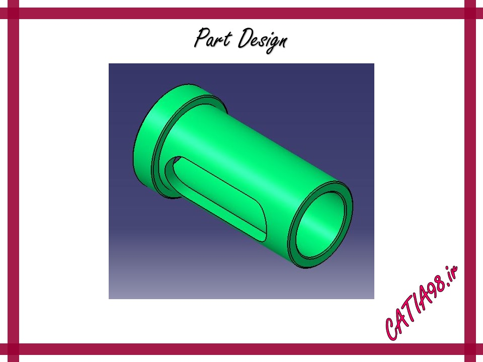 Part Design No.19 - مجموعه تمرین های محیط Part Design