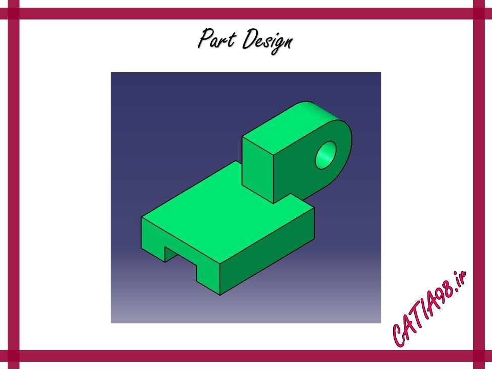 Part Design No.24 - مجموعه تمرین های محیط Part Design