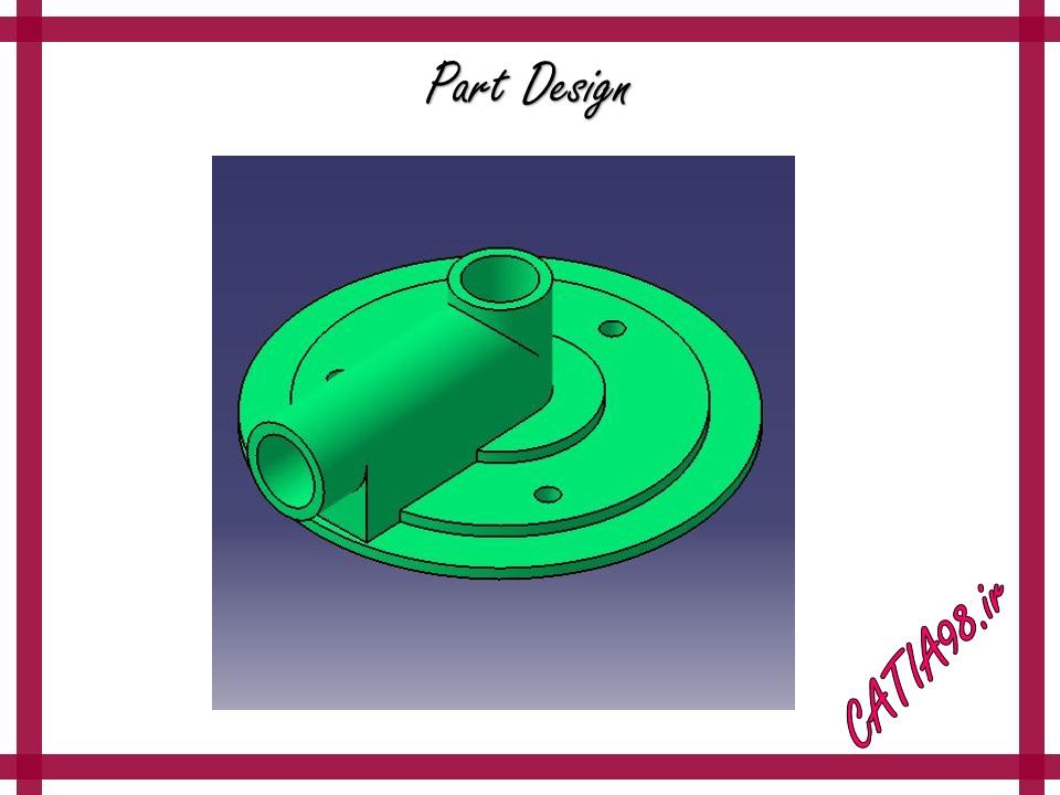 Part Design No.29 - مجموعه تمرین های محیط Part Design