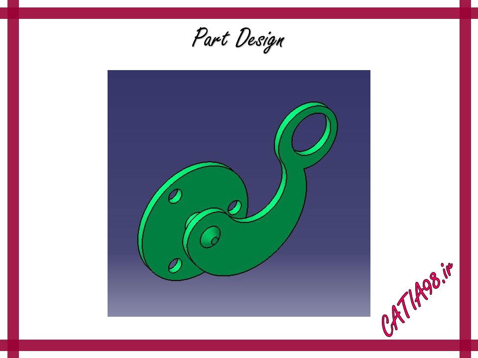 Part Design No.30 - مجموعه تمرین های محیط Part Design