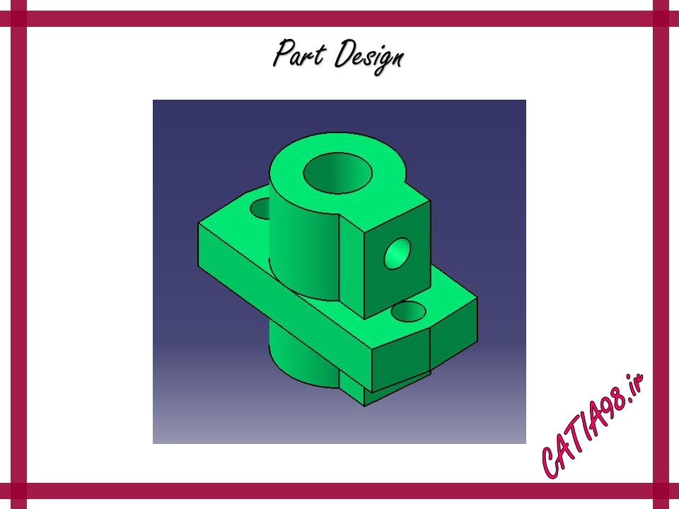 Part Design No.32 - مجموعه تمرین های محیط Part Design