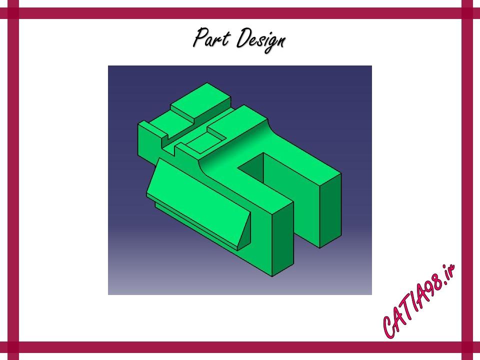 Part Design No.48 - مجموعه تمرین های محیط Part Design