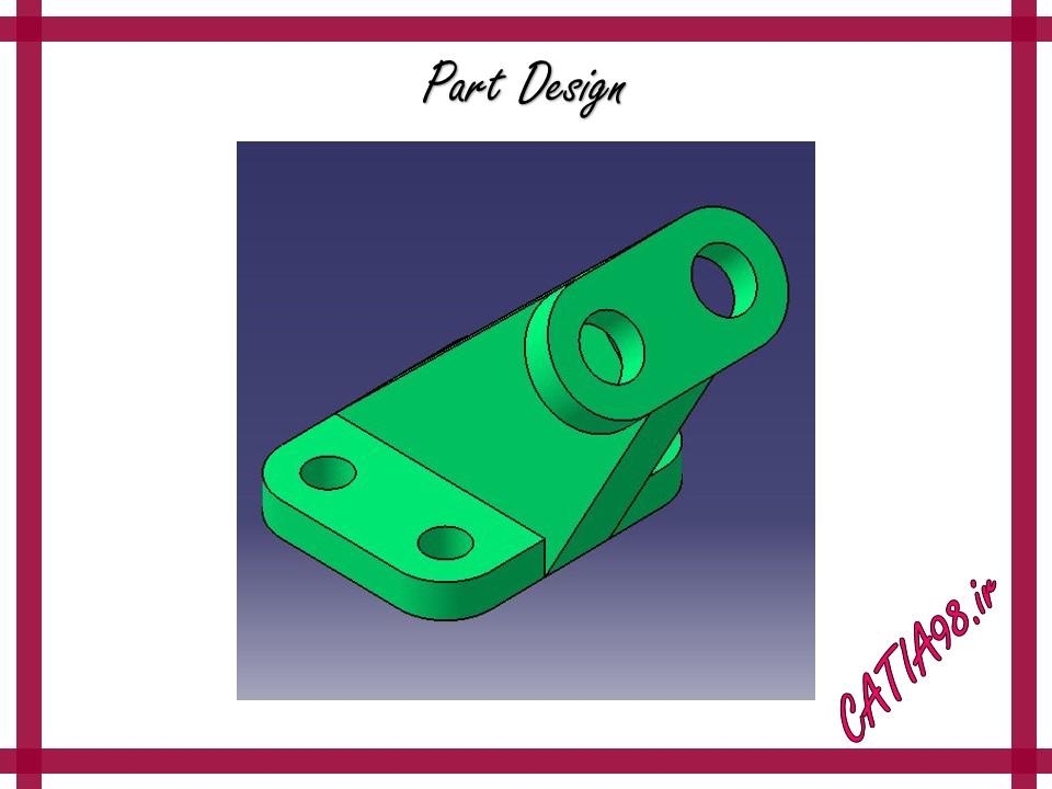 Part Design No.50 - مجموعه تمرین های محیط Part Design