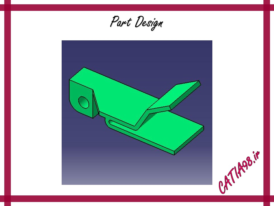 Part Design No.53 - مجموعه تمرین های محیط Part Design