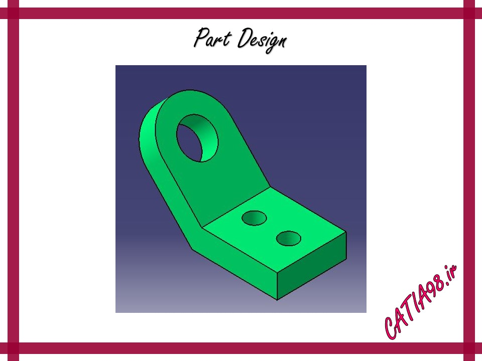 Part Design No.59 - مجموعه تمرین های محیط Part Design