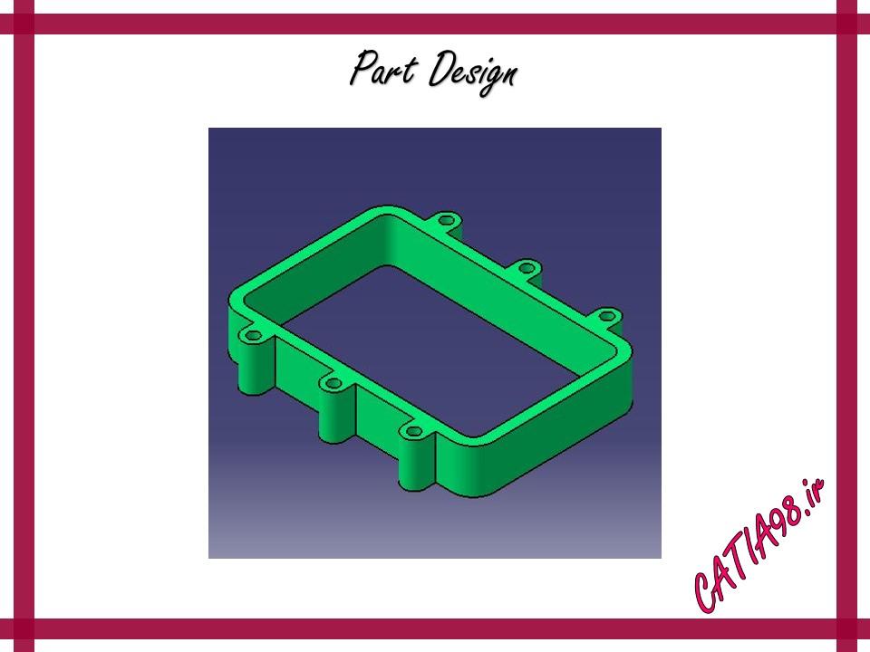 Part Design No.65 - مجموعه تمرین های محیط Part Design