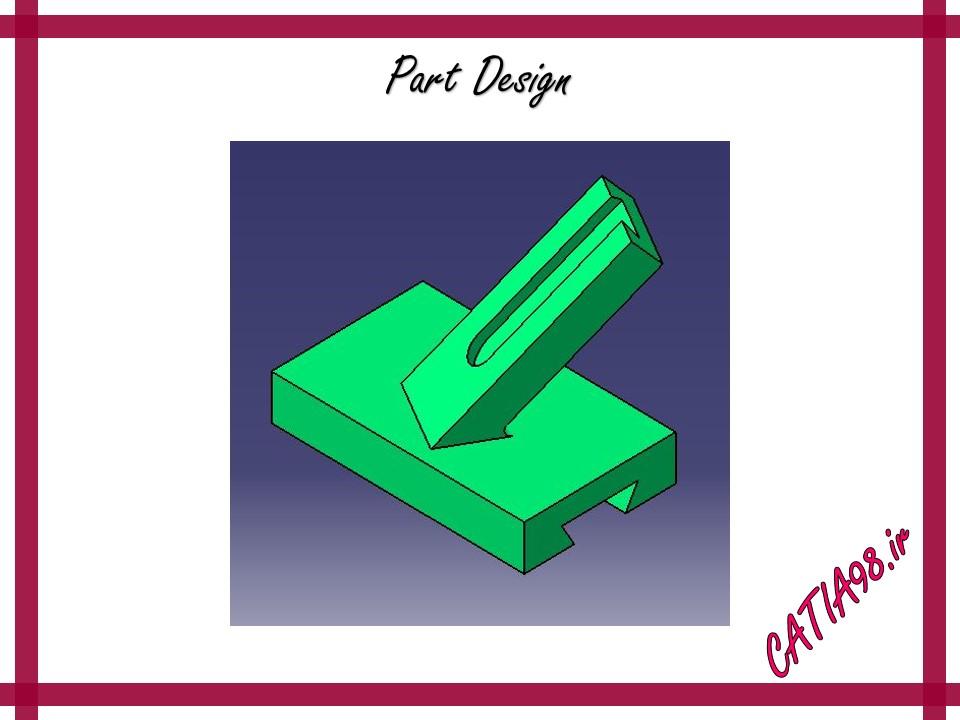 Part Design No.71 - مجموعه تمرین های محیط Part Design