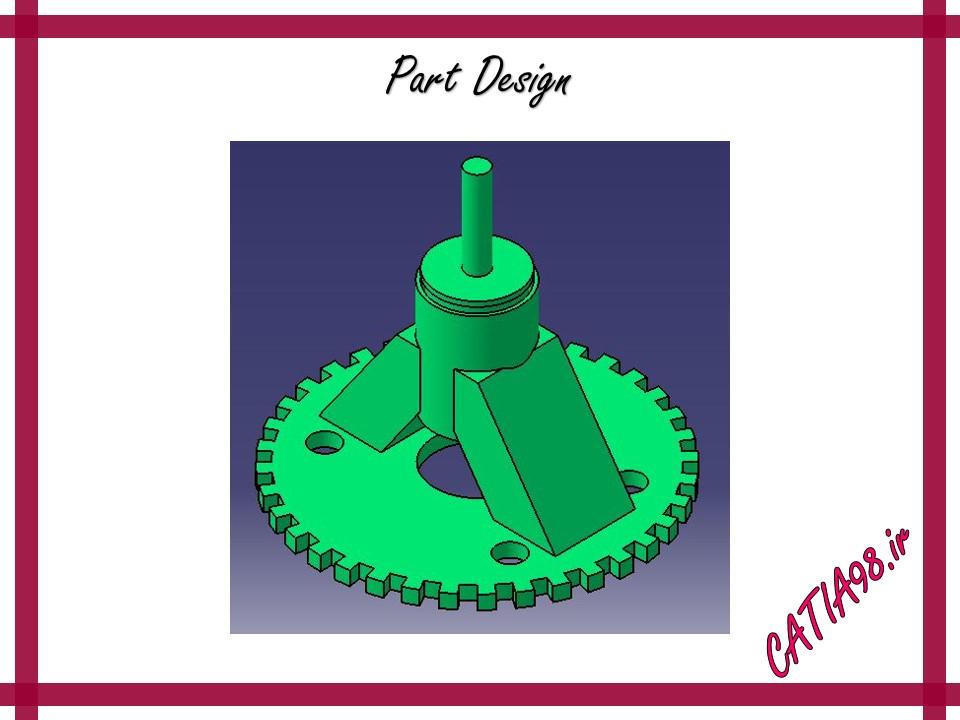 Part Design No.78 - مجموعه تمرین های محیط Part Design