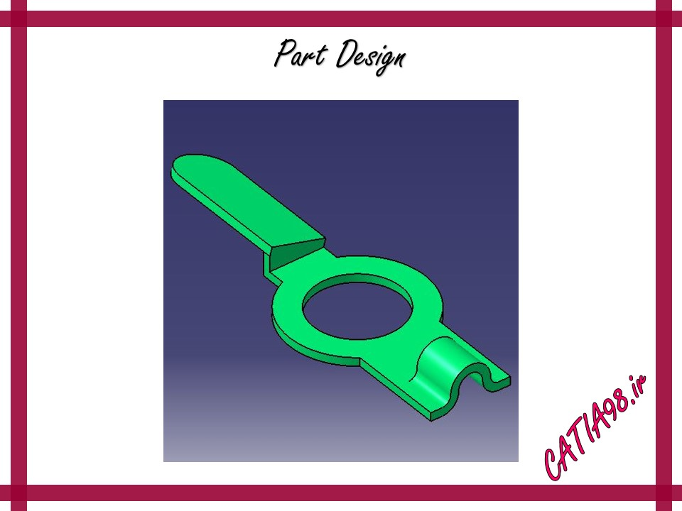 Part Design No.85 - مجموعه تمرین های محیط Part Design