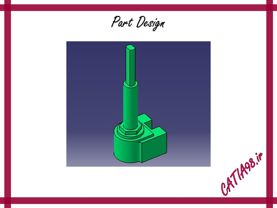 Part Design No.86 - مجموعه تمرین های محیط Part Design