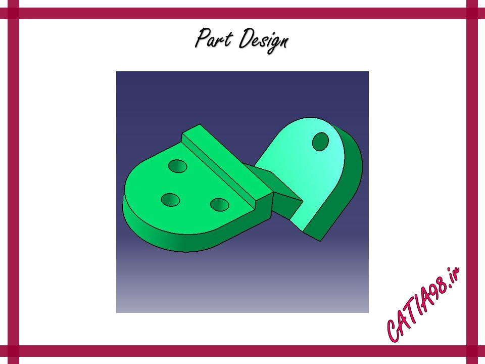 Part Design No.87 - مجموعه تمرین های محیط Part Design