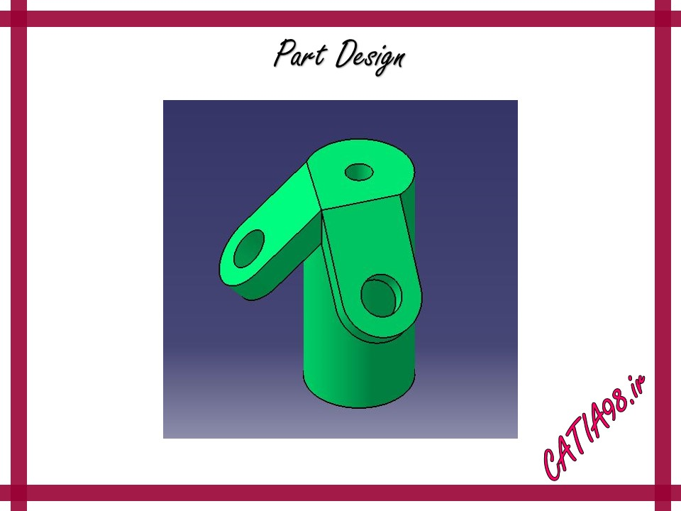 Part Design No.90 - مجموعه تمرین های محیط Part Design