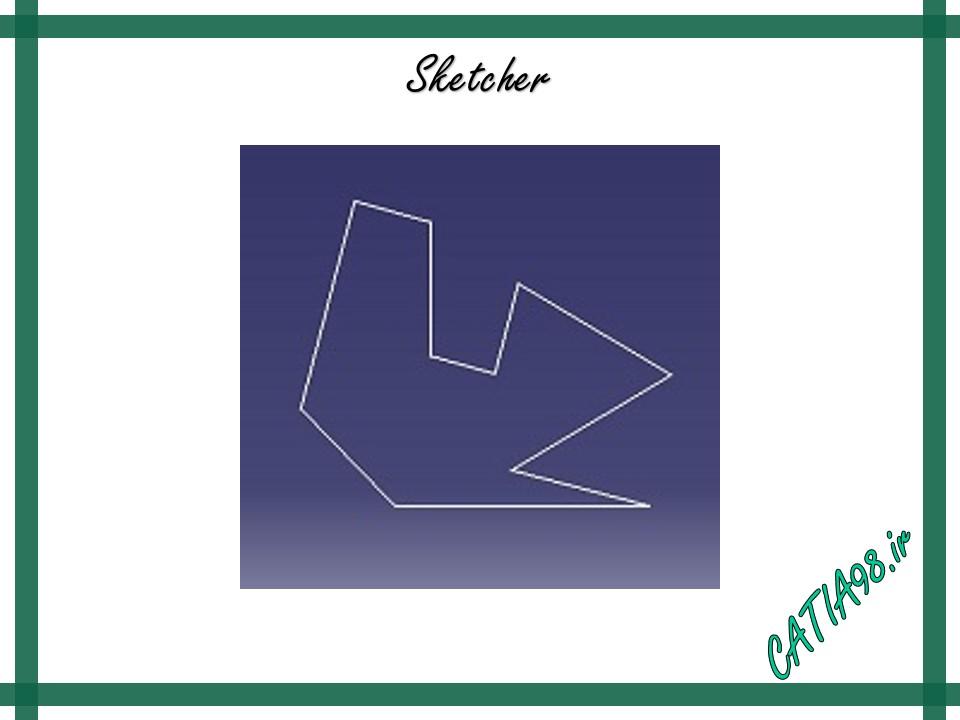 Sketcher No.10 - مجموعه تمرین های محیط Sketcher
