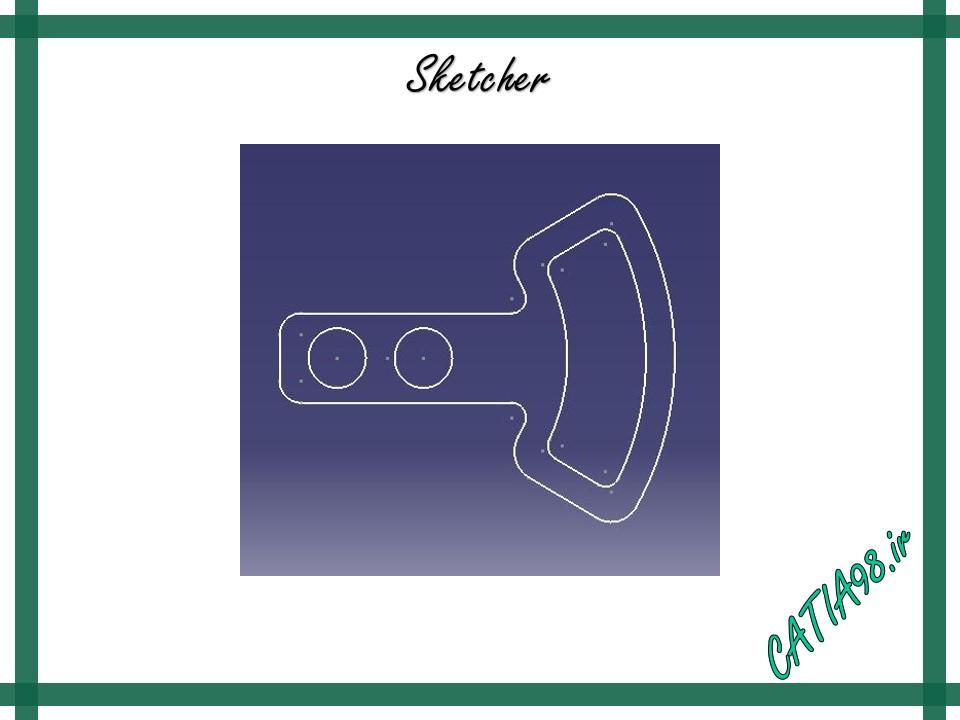 Sketcher No.13 - مجموعه تمرین های محیط Sketcher