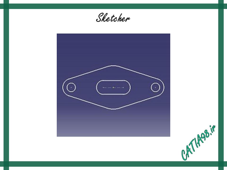 Sketcher No.19 - مجموعه تمرین های محیط Sketcher