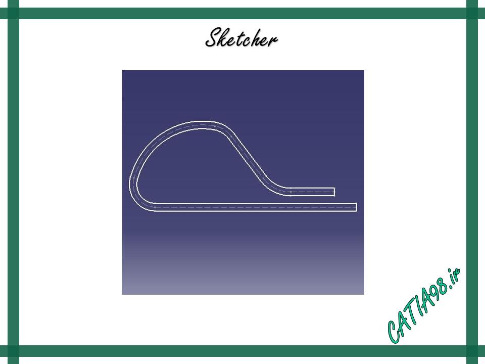 Sketcher No.31 - مجموعه تمرین های محیط Sketcher